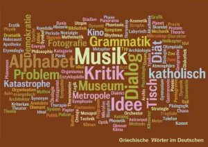 Griechische Wörter im Deutschen
