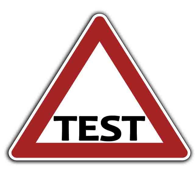Vorfahrtzeichen Test